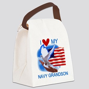 NAVYGRANDSON Canvas Lunch Bag