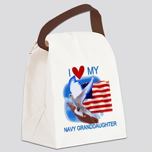 NAVYGRANDDAUGHTER Canvas Lunch Bag