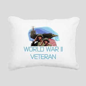 WORLDWARTWOVET Rectangular Canvas Pillow