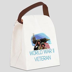 WORLDWARTWOVET Canvas Lunch Bag