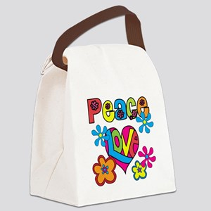 PEACELOVETEE Canvas Lunch Bag