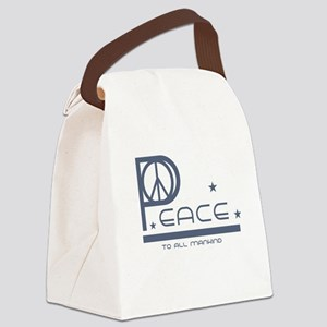 peacemankind Canvas Lunch Bag