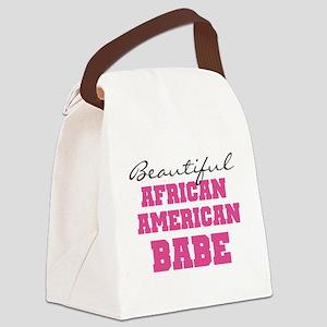 pinkaframerbabe Canvas Lunch Bag