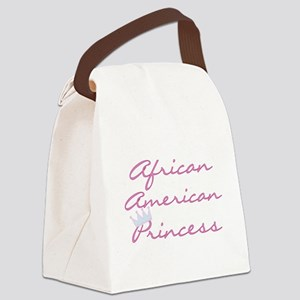 CRAAMERICANPRINCESs Canvas Lunch Bag