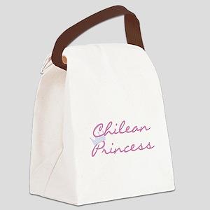 crchileanprincess Canvas Lunch Bag