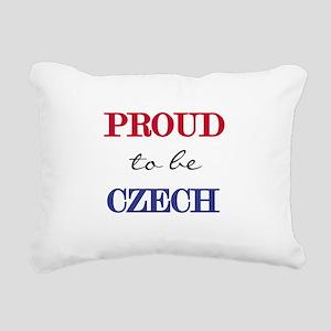 PROUDCZECH Rectangular Canvas Pillow