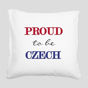 PROUDCZECH Square Canvas Pillow