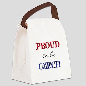 PROUDCZECH Canvas Lunch Bag