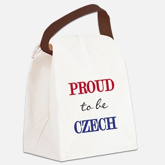 PROUDCZECH.png Canvas Lunch Bag