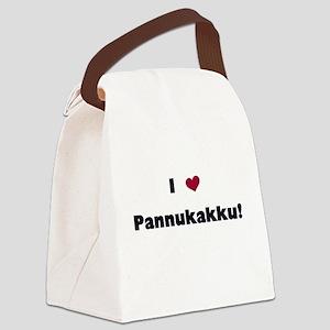 LOVEPANNUKAKKU Canvas Lunch Bag