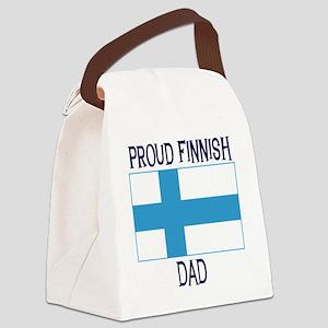finnishdad2 Canvas Lunch Bag