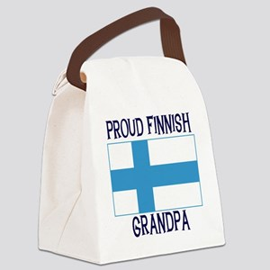 FINNISHGRANDPA2 Canvas Lunch Bag