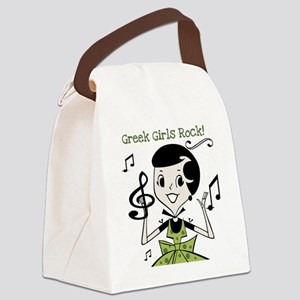 greekgirlsrock Canvas Lunch Bag