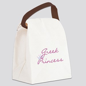 crgreekprincess Canvas Lunch Bag