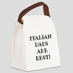 ITALIANDADSBESTAA Canvas Lunch Bag