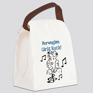 norwegiangirlsrock Canvas Lunch Bag