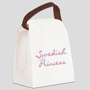 crswedishprincess Canvas Lunch Bag