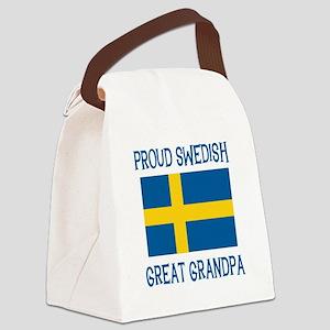 SWEDISHGGRANDPA Canvas Lunch Bag