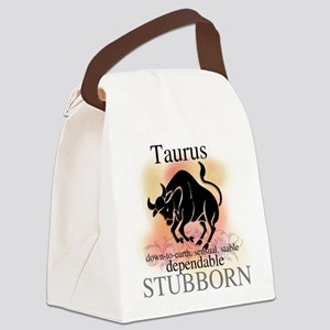 HOROSCOPETAURUS Canvas Lunch Bag