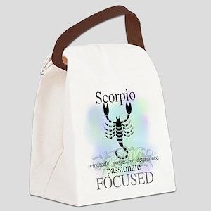 HOROSCOPESCORPIO Canvas Lunch Bag