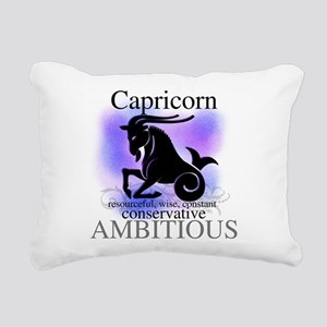 HOROSCOPECAPRICORN Rectangular Canvas Pillow