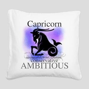 HOROSCOPECAPRICORN Square Canvas Pillow