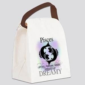 HOROSCOPEPISCES Canvas Lunch Bag