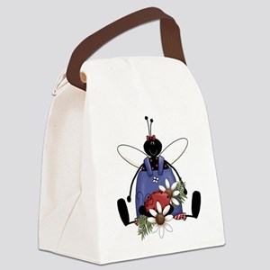 luckybugwhimsy Canvas Lunch Bag