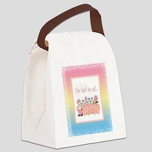 Blanket Cancer Survivor copy Canvas Lunch Bag