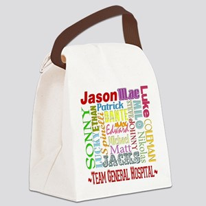 GH guy names copy Canvas Lunch Bag