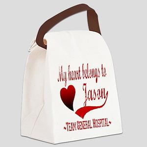 GH Jason copy Canvas Lunch Bag