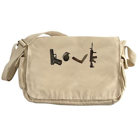 Weapon of Love Messenger Bag