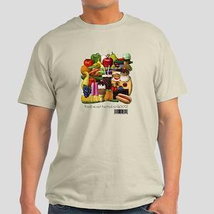 Gluten Free Food Light T-Shirt