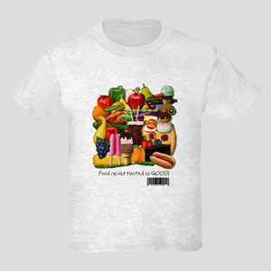 Gluten Free Food Kids Light T-Shirt