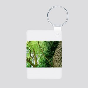 willow and ivy Aluminum Photo Keychain