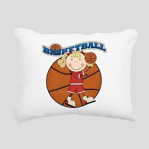 basketballkidfour Rectangular Canvas Pillow