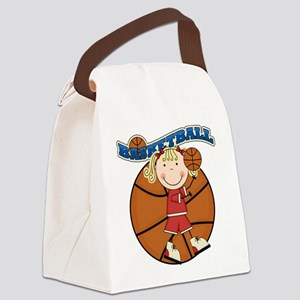 basketballkidfour Canvas Lunch Bag