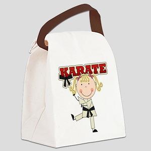 karatekidthree Canvas Lunch Bag