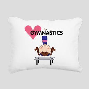 GYMNASTICSFOUR Rectangular Canvas Pillow