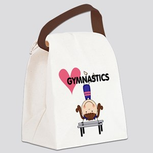 GYMNASTICSFOUR Canvas Lunch Bag