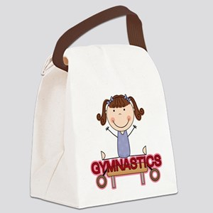 GYMNASTICSONE Canvas Lunch Bag