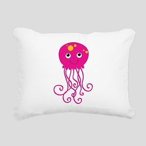KPMDOODLEJFISH Rectangular Canvas Pillow