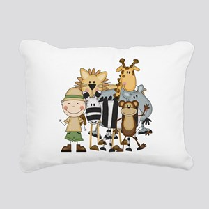 SAFARIBOY Rectangular Canvas Pillow