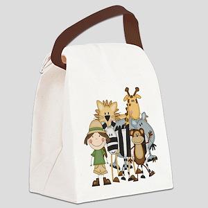 safarigirl Canvas Lunch Bag