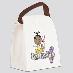 BALLERINATWO Canvas Lunch Bag