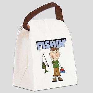 boyfishin Canvas Lunch Bag