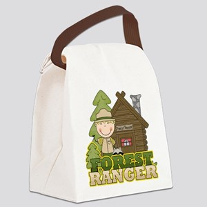 FORESTRANGERBOY3 Canvas Lunch Bag