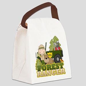 FORESTRANGERGIRL Canvas Lunch Bag