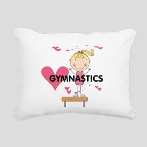 GYMNASTICSFIVE Rectangular Canvas Pillow