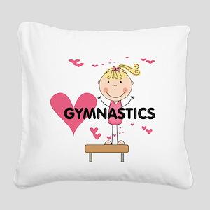 GYMNASTICSFIVE Square Canvas Pillow